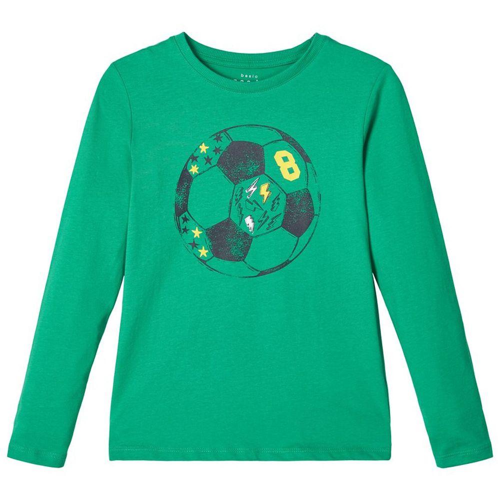 Реглан Name it Goal (зеленый), арт. 203.13171462.LEPR, цвет Зеленый