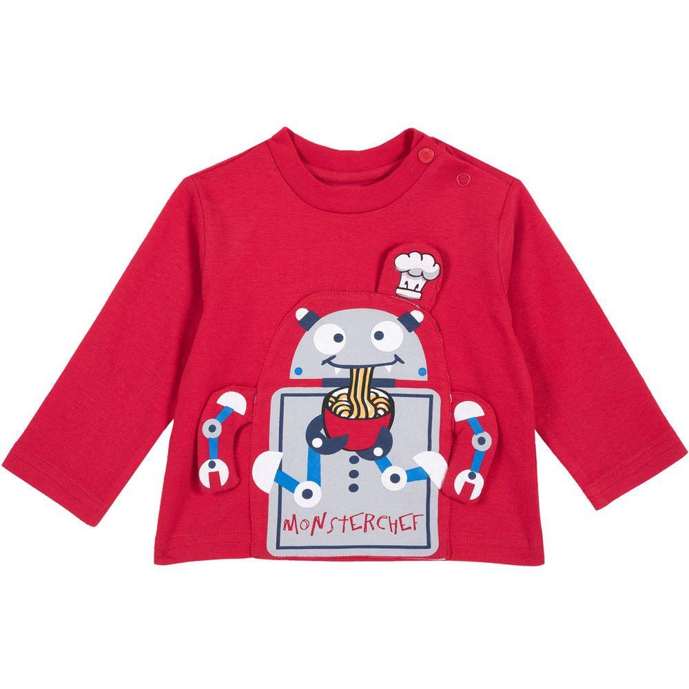 Реглан Chicco Monsterchef (красный), арт. 090.06812.075, цвет Красный
