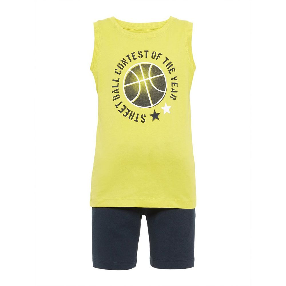Костюм Name it Basket: майка и шорты, арт. 13161736.GSHE, цвет Синий