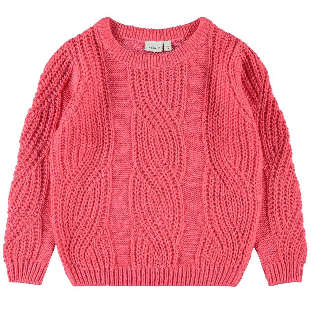Пуловер Name it Glory, арт. 203.13177549.SCOR, цвет Розовый