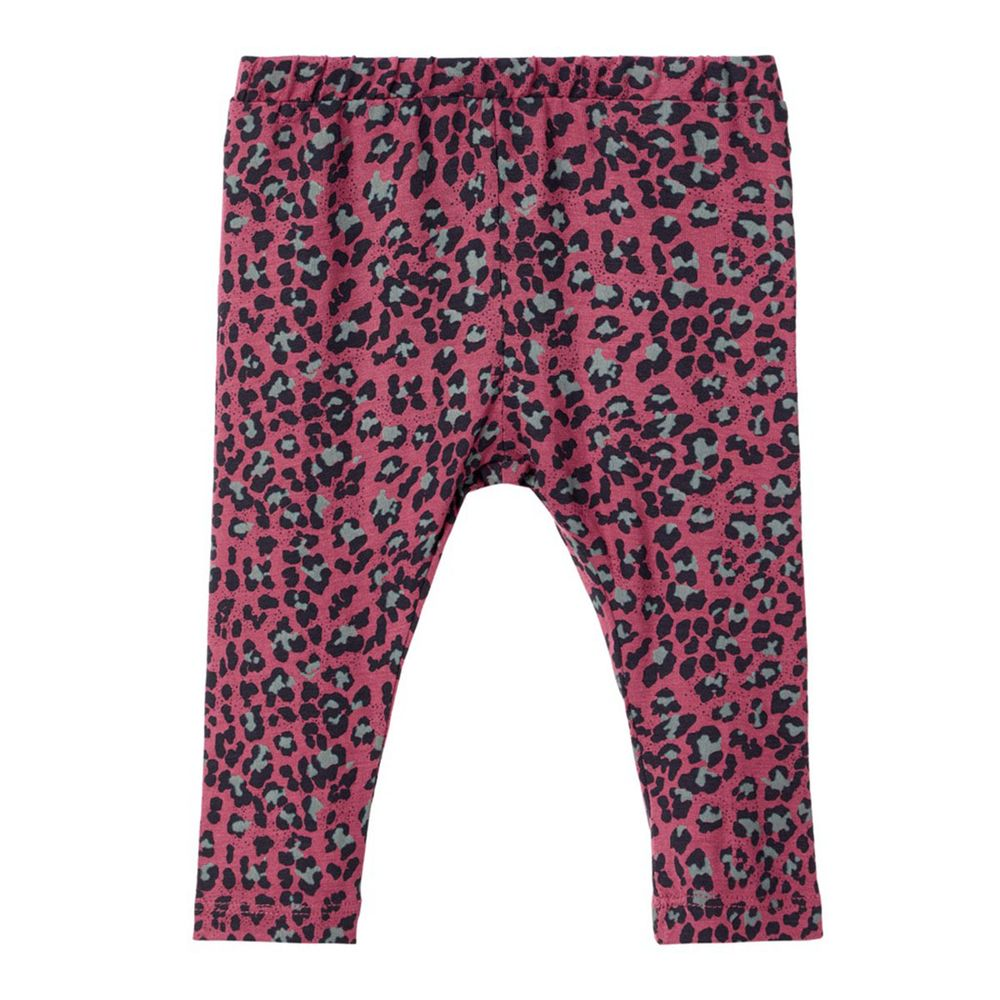 Леггинсы Name it Leopard, арт. 13168869.HROS, цвет Розовый