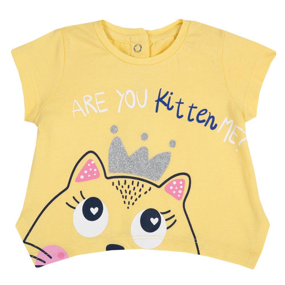 Футболка Chicco Kitten, арт. 090.06939.041, цвет Желтый