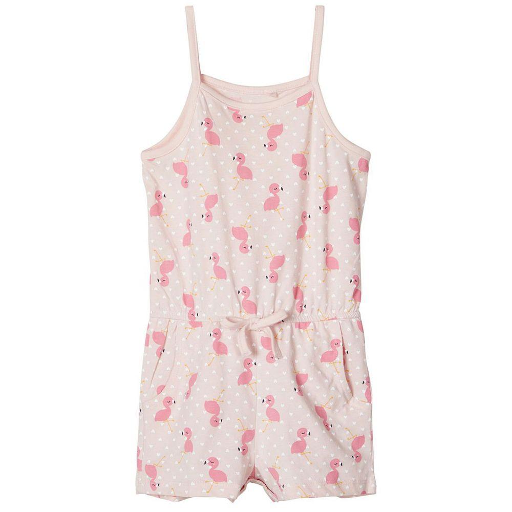 Полукомбинезон Name it Pink flamingo, арт. 201.13173810.POTP, цвет Розовый