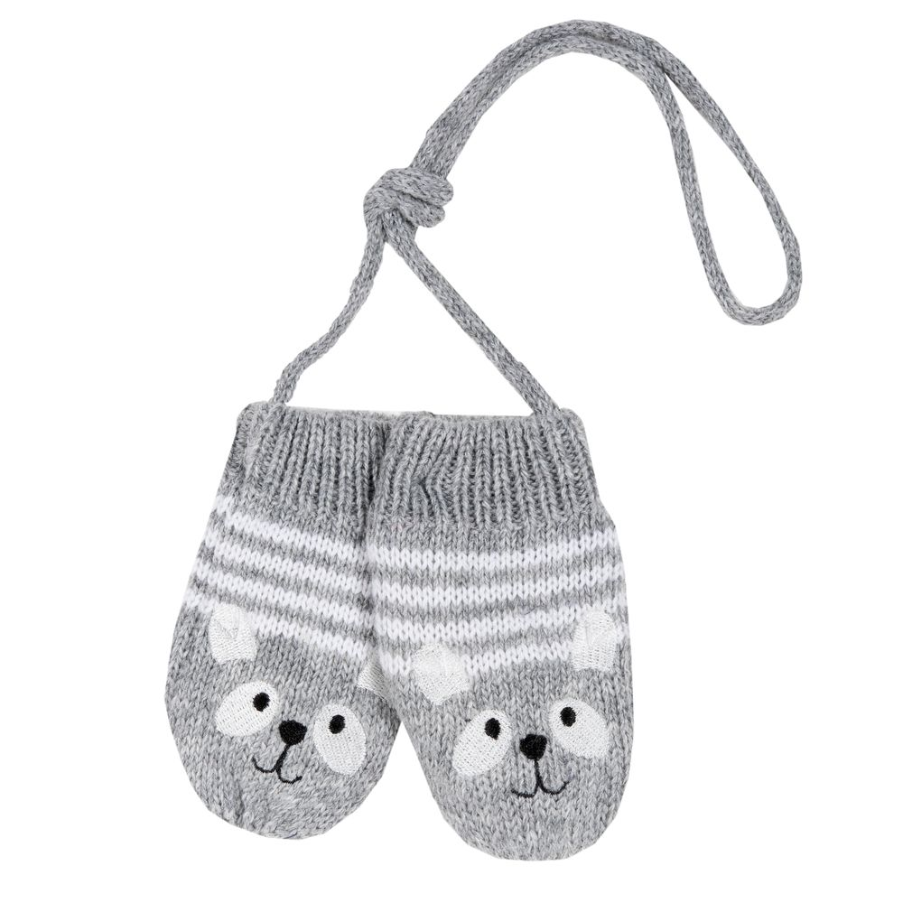 Варежки Chicco Little koala, арт. 090.04722.091, цвет Серый