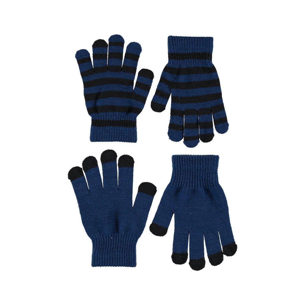 Перчатки Molo Keio Ocean Blue (2 пары), арт. 7W19S204.8023, цвет Синий