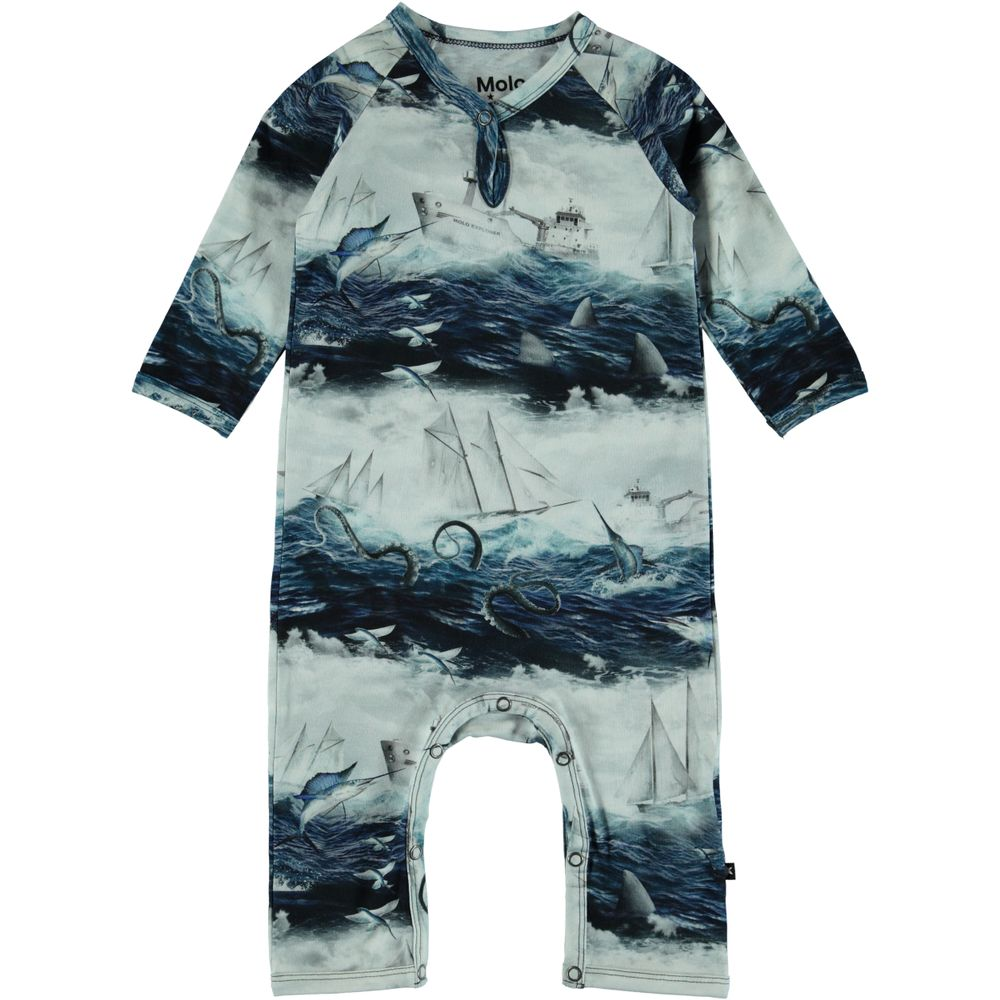 Комбинезон Molo Fleming Sailor Stripe, арт. 3S19B504.4802, цвет Синий