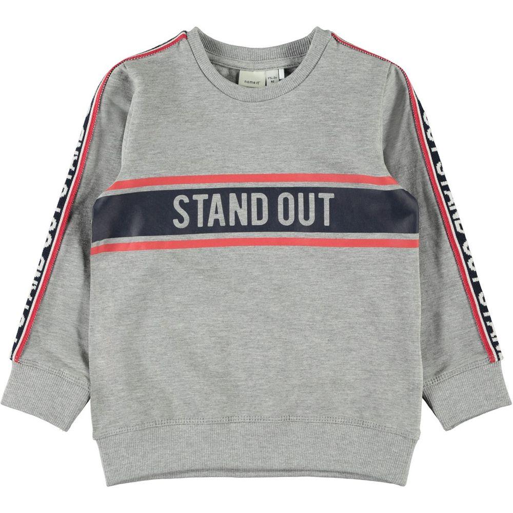 Джемпер Name it Stand out, арт. 193.13167358.GMEL, цвет Серый