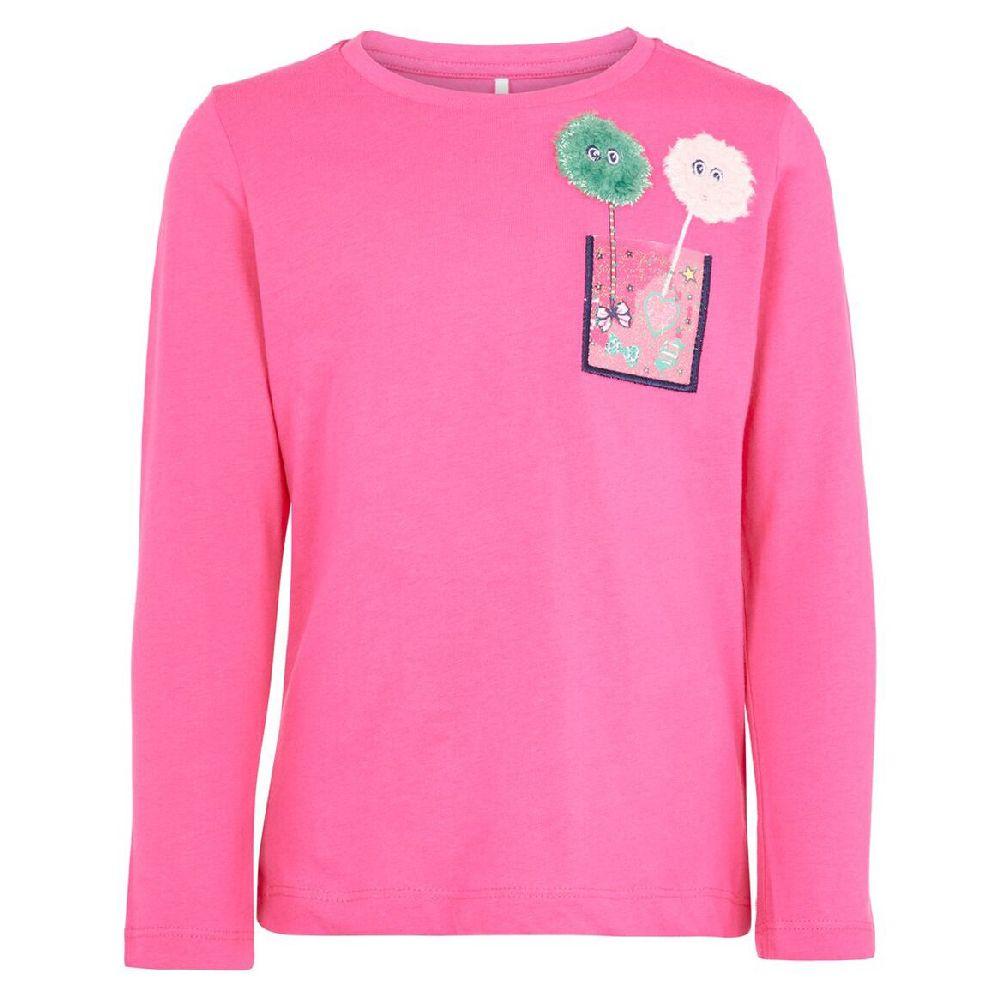 Реглан Name it Yummy, арт. 193.13170217.FPUR, цвет Розовый