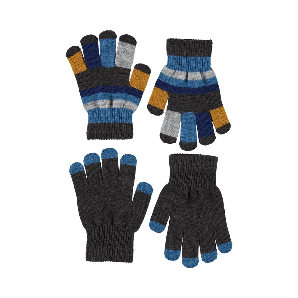 Перчатки Molo Keio Brown Darkness (2 пары), арт. 7W20S205.8225, цвет Серый