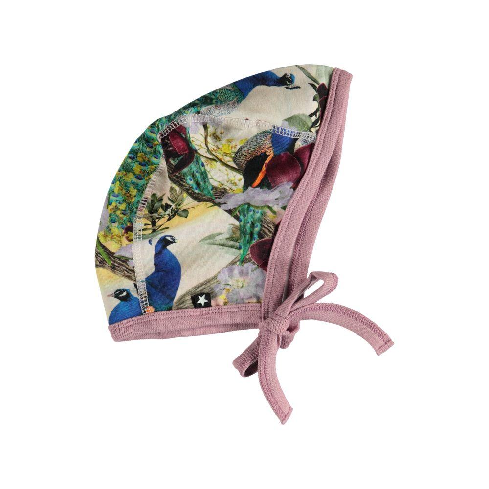 Шапка Molo Ninna Oriental Peacocks, арт. 7W19T202.4874, цвет Разноцветный