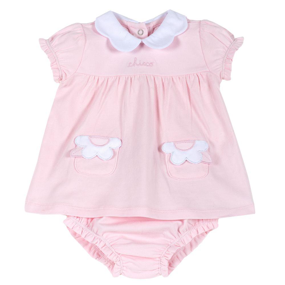 Костюм Chicco Mia: платье и трусики , арт. 090.76405.011, цвет Розовый