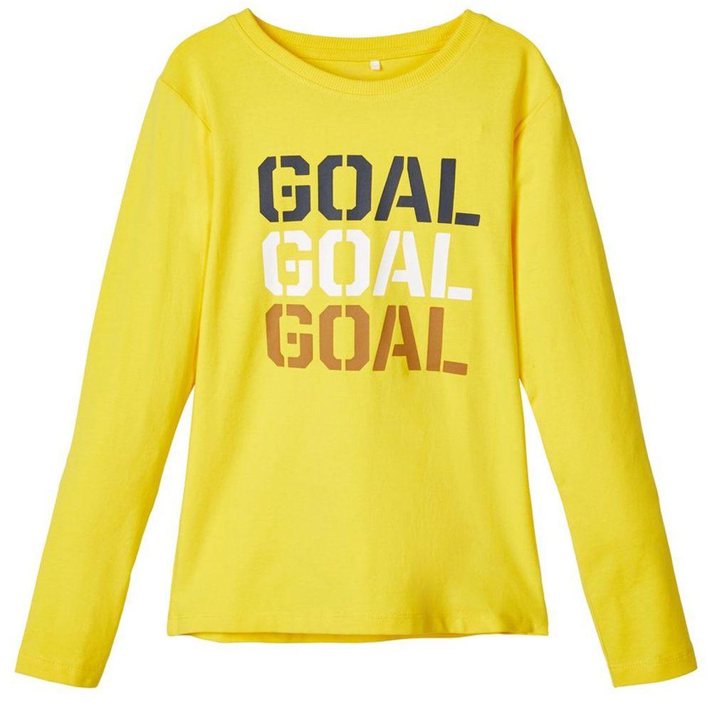 Реглан Name it Goal, арт. 203.13171463.EYEL, цвет Желтый