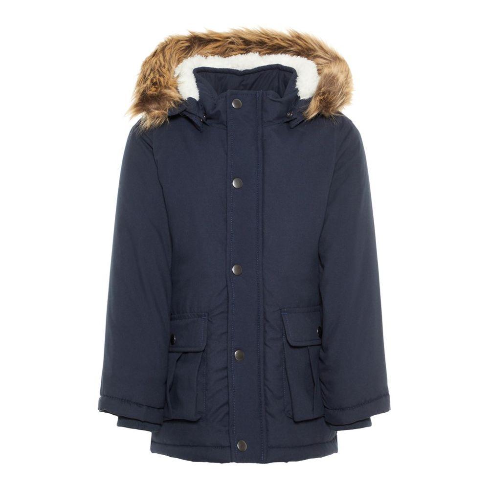 Куртка-парка Name it Jason (синяя), арт. 193.13167910.DSAP, цвет Синий