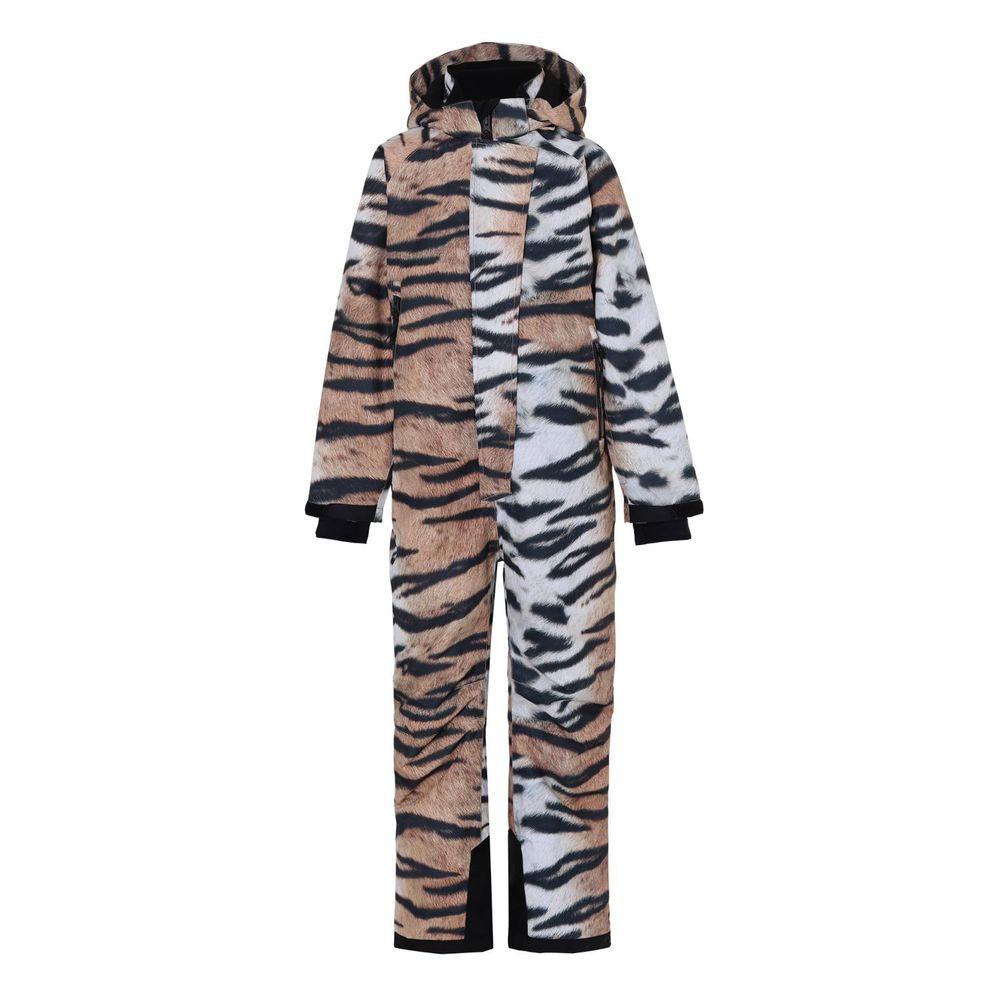 Термокомбинезон горнолыжный Molo Hux Wild Tiger, арт. 5W20N203.6130, цвет Бежевый