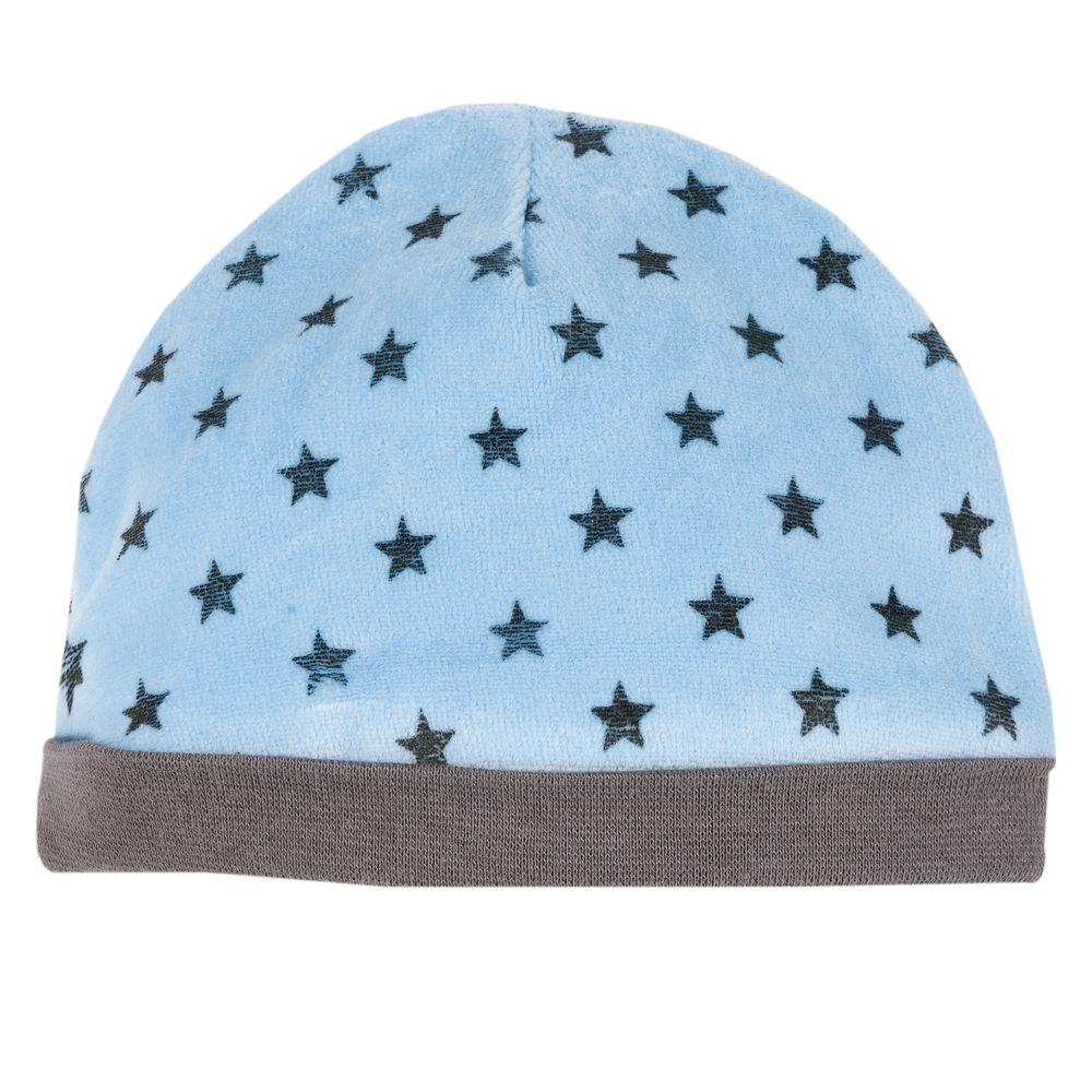 Шапка Chicco Hearts & stars blue, арт. 090.04328.025, цвет Голубой
