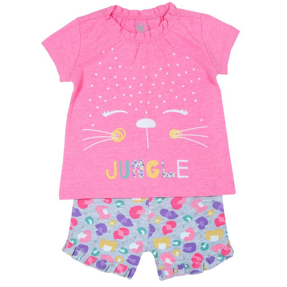 Костюм Chicco Adore: футболка и шорты, арт. 090.76468.015, цвет Розовый