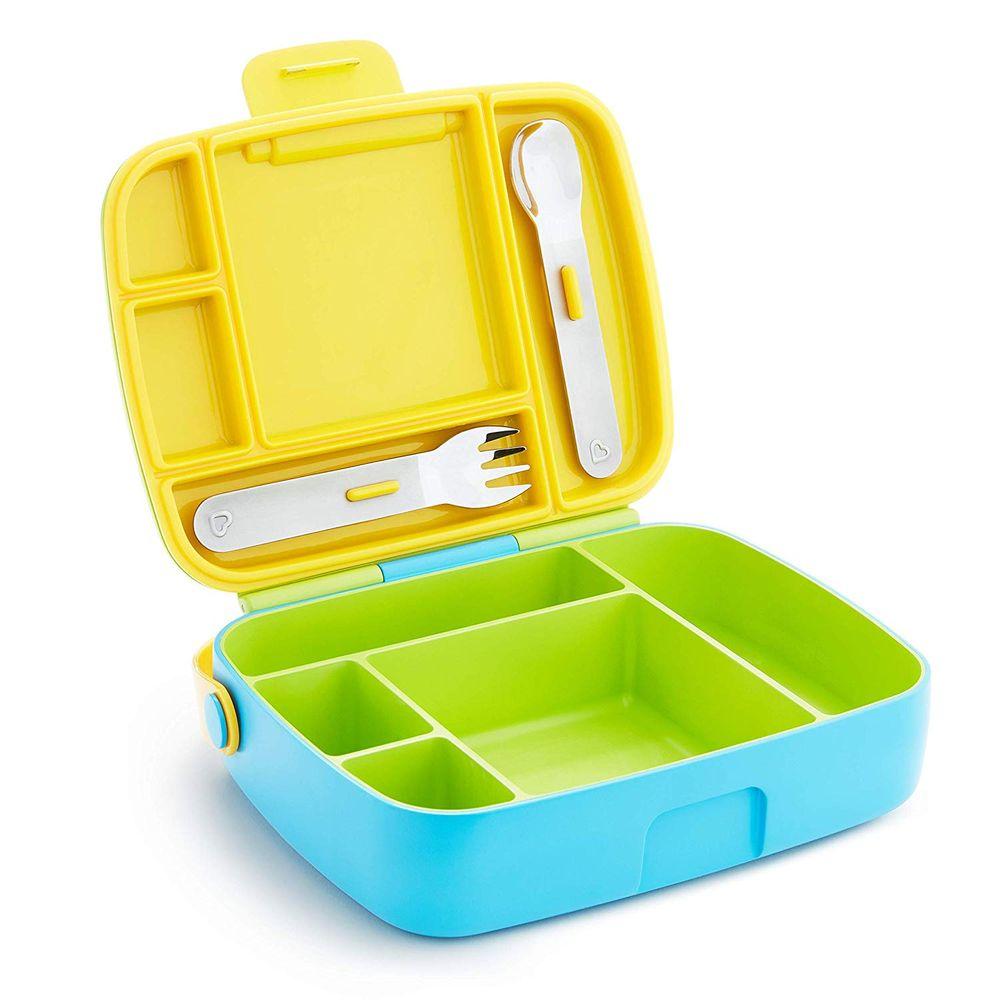 """Контейнер Munchkin """"Lunch Bento Box"""", арт. 17240, цвет Салатовый"""