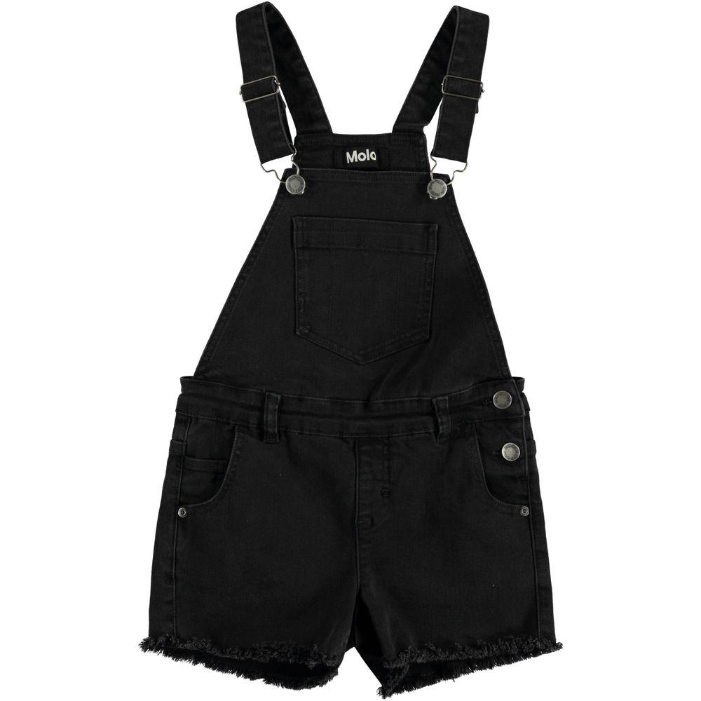 Полукомбинезон джинсовый Molo Alikami Washed Black, арт. 2S20H107.1163, цвет Черный