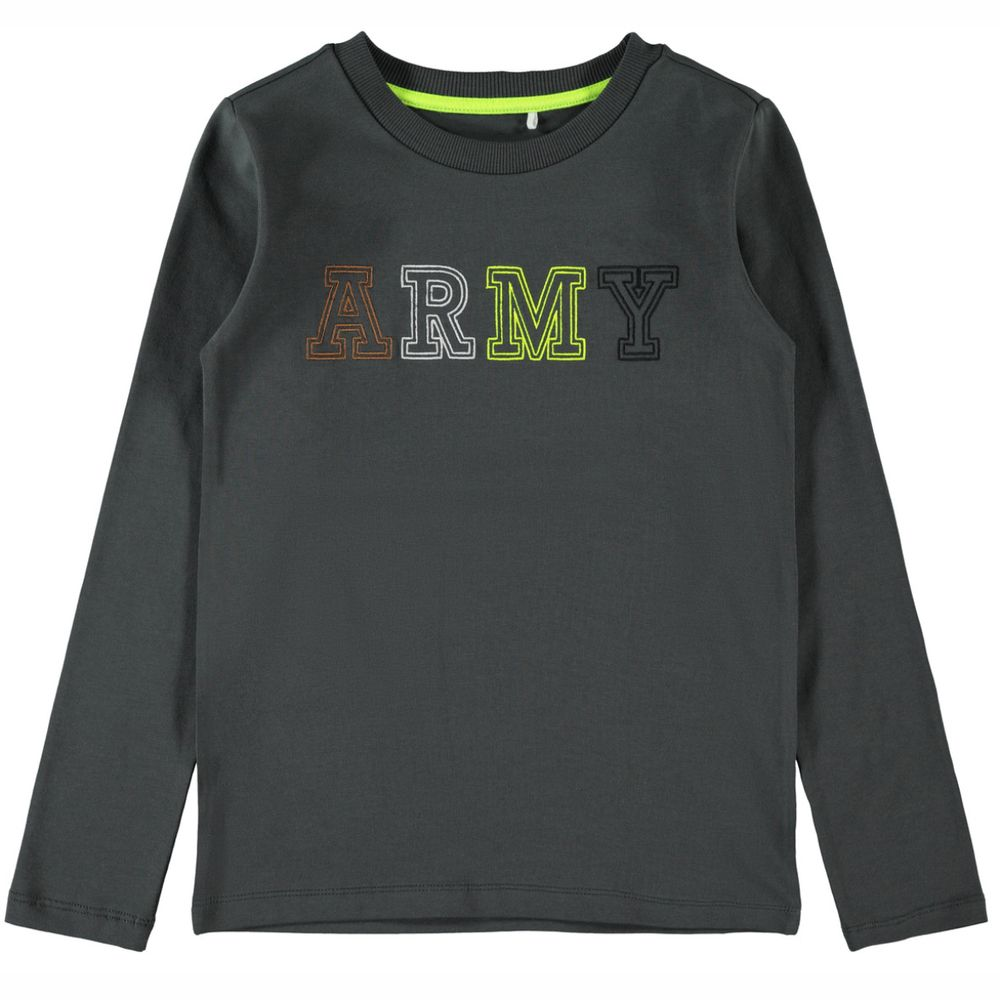 Реглан Name it ARMY, арт. 203.13182665.ASPH, цвет Серый