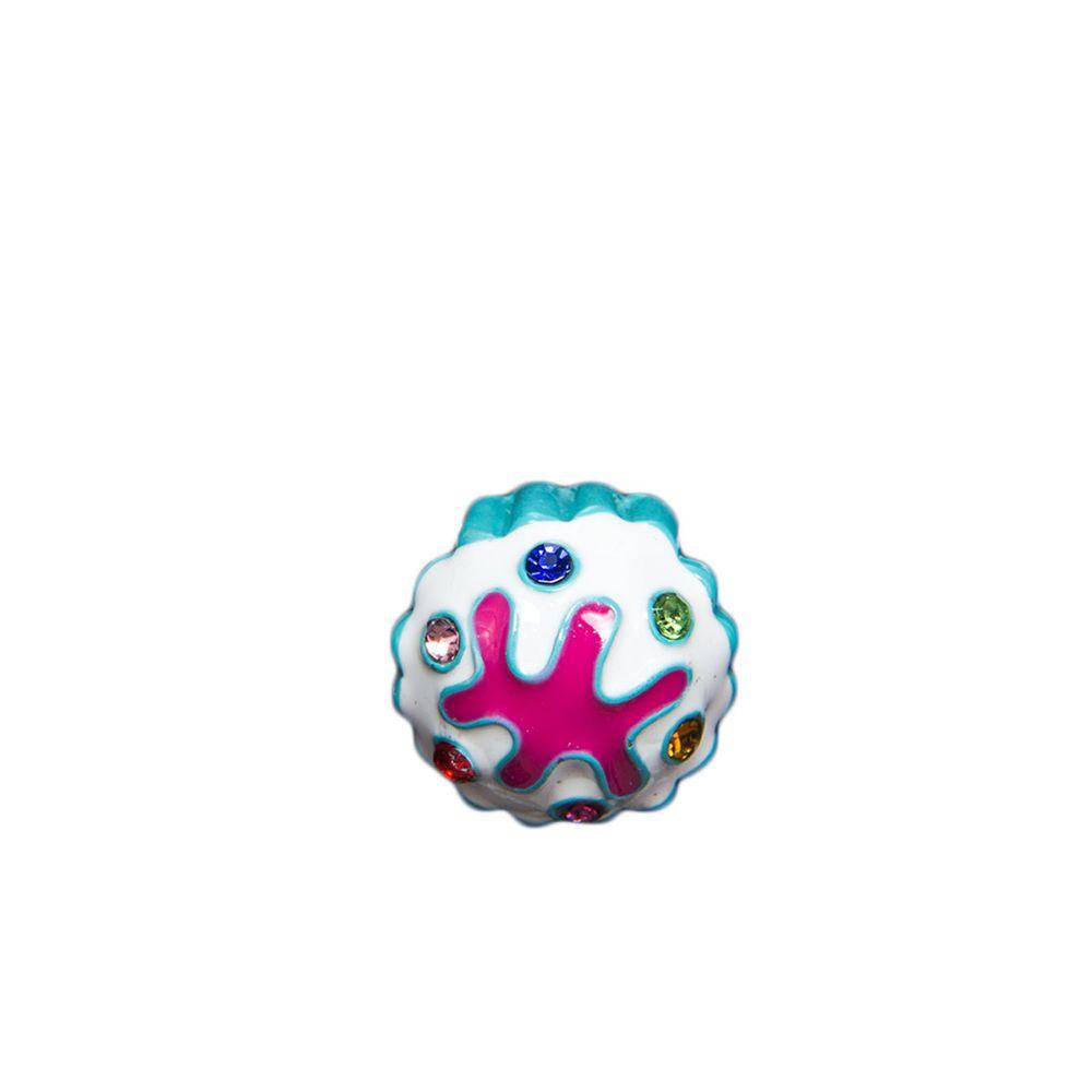 """Эмодзи Tinto """"Turquoise cupcakes"""", арт. AC2235.1, цвет Белый"""