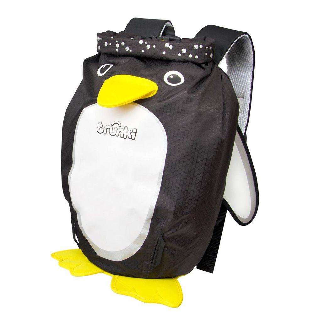 """Детский рюкзак Trunki """"Penguin"""", арт. 0319-GB01, цвет Черный"""