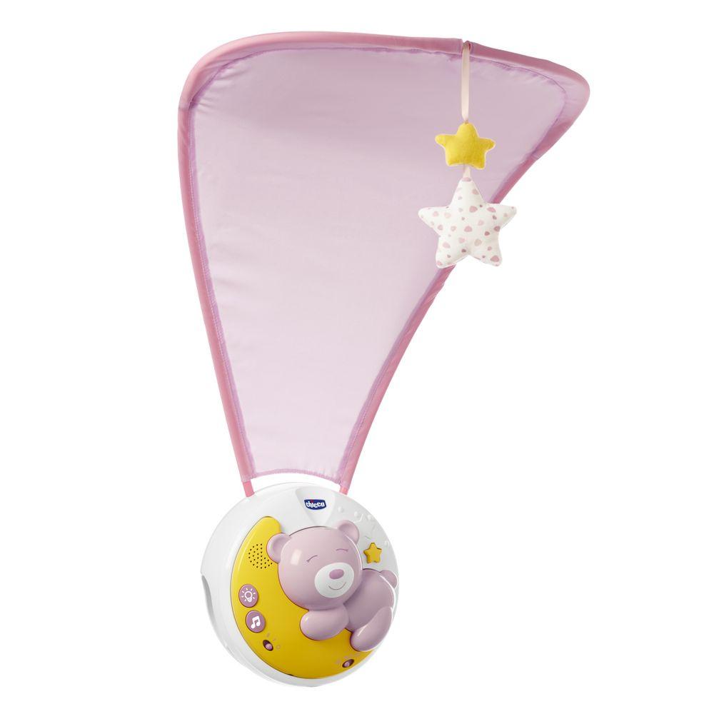 "Игрушка на кроватку Chicco ""Next2Moon"", арт. 09828, цвет Розовый"