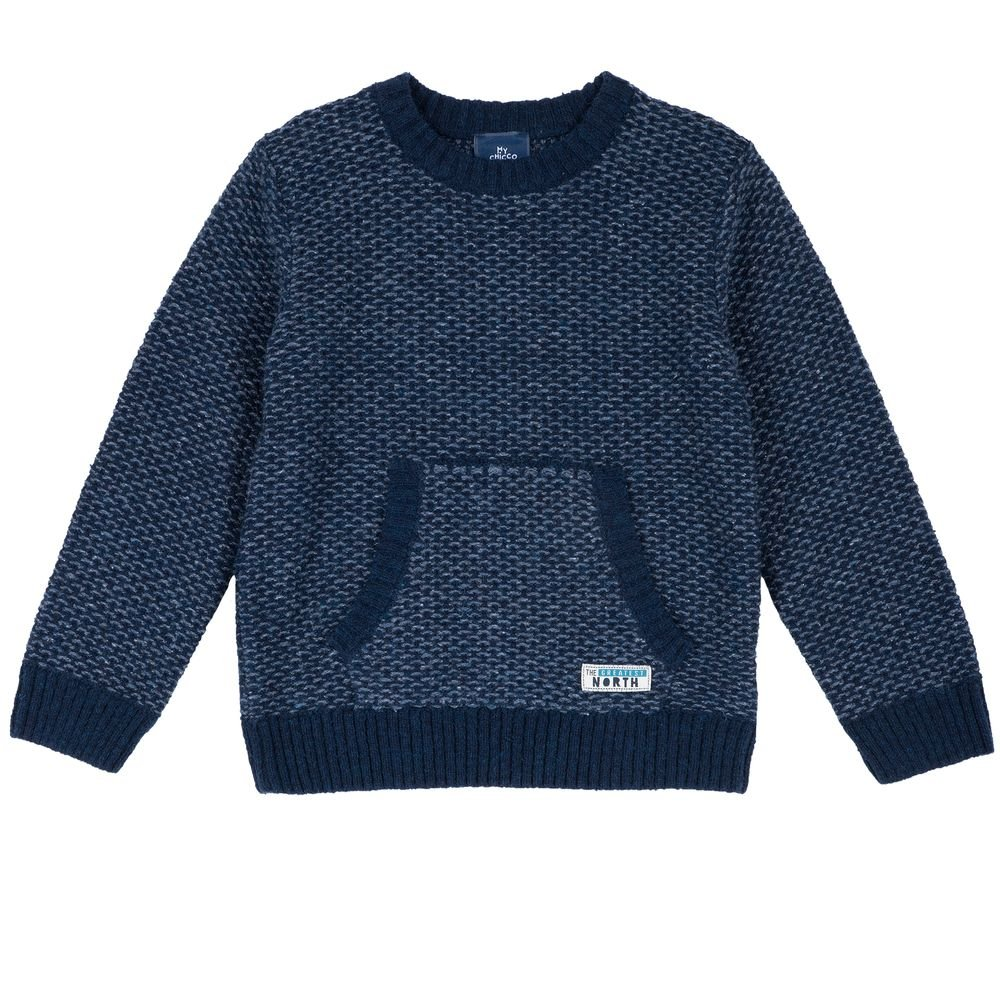 Пуловер Chicco Brave, арт. 090.69387.085, цвет Синий