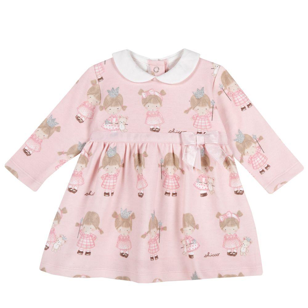 Платье Chicco Happy fairy, арт. 090.03064.010, цвет Розовый
