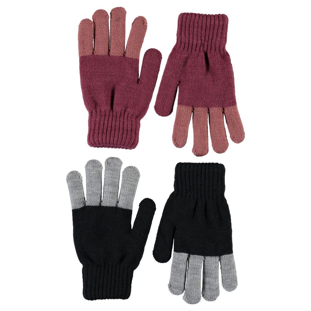 Перчатки Molo Keen Desert Sand (2 пары), арт. 7W20S201.8217, цвет Розовый