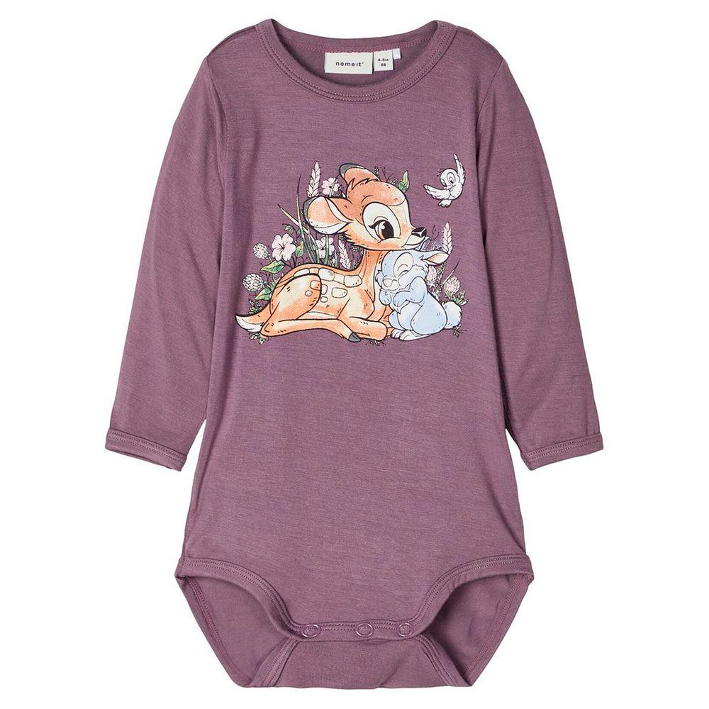 Боди Name it Bambi, арт. 201.13176574.BPLU, цвет Сиреневый