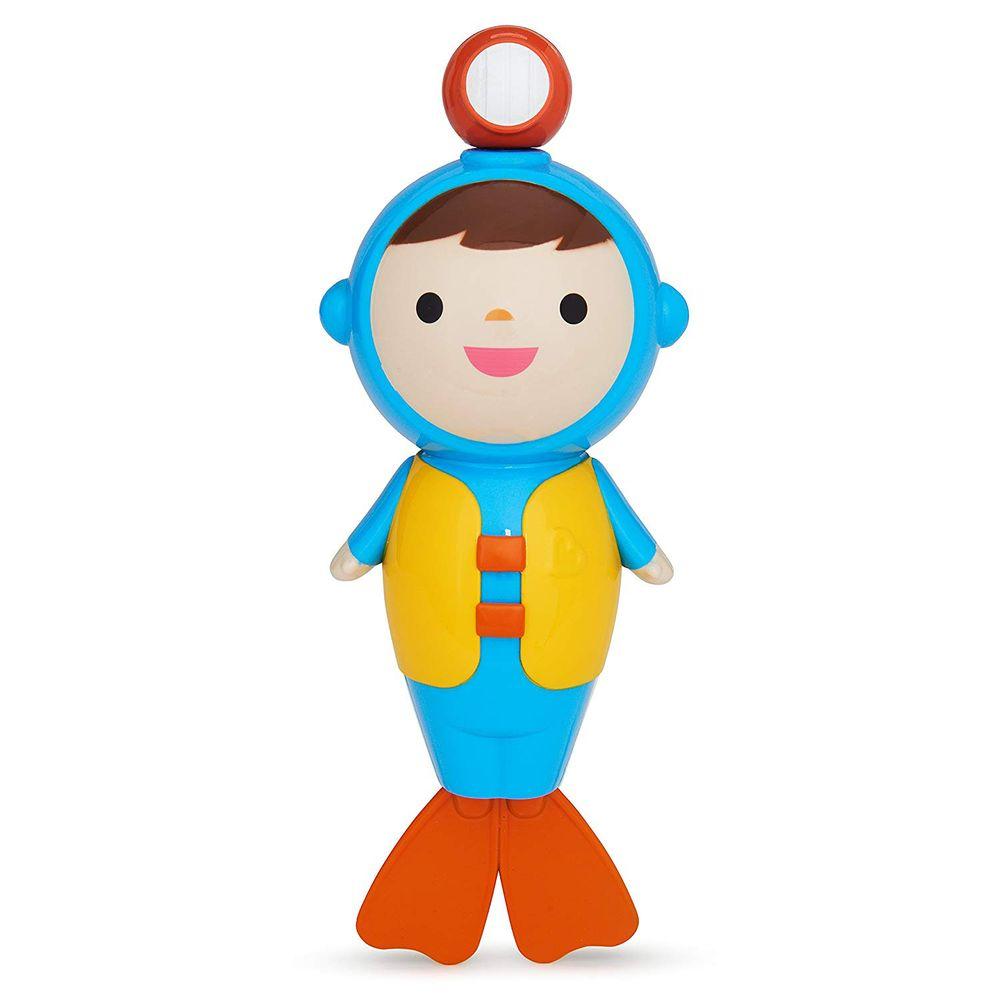 """Игрушка для ванной Munchkin """"Аквалангист"""", арт. 01142002, цвет Голубой"""