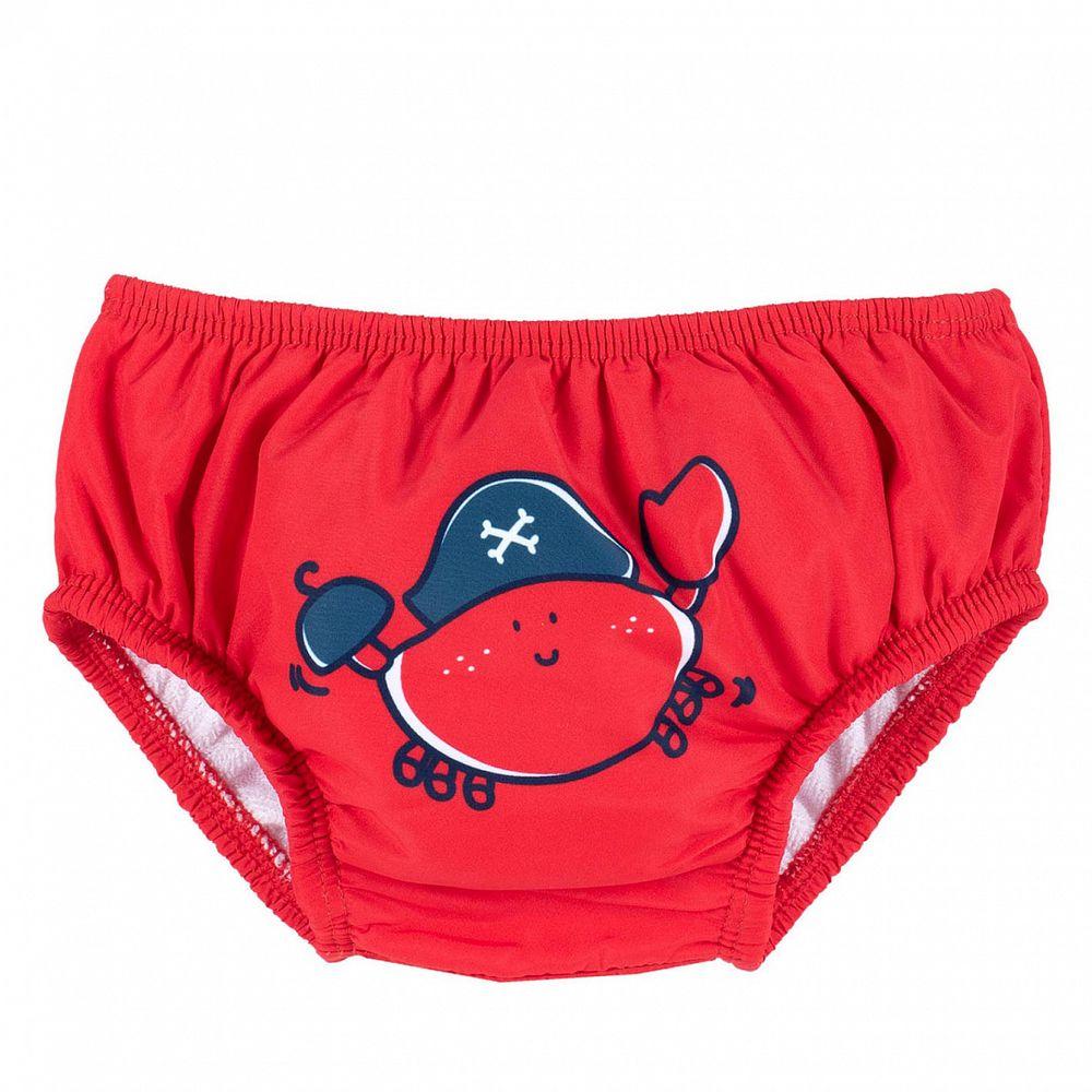 Плавки для бассейна Chicco Red crab, арт. 090.07039.071, цвет Красный