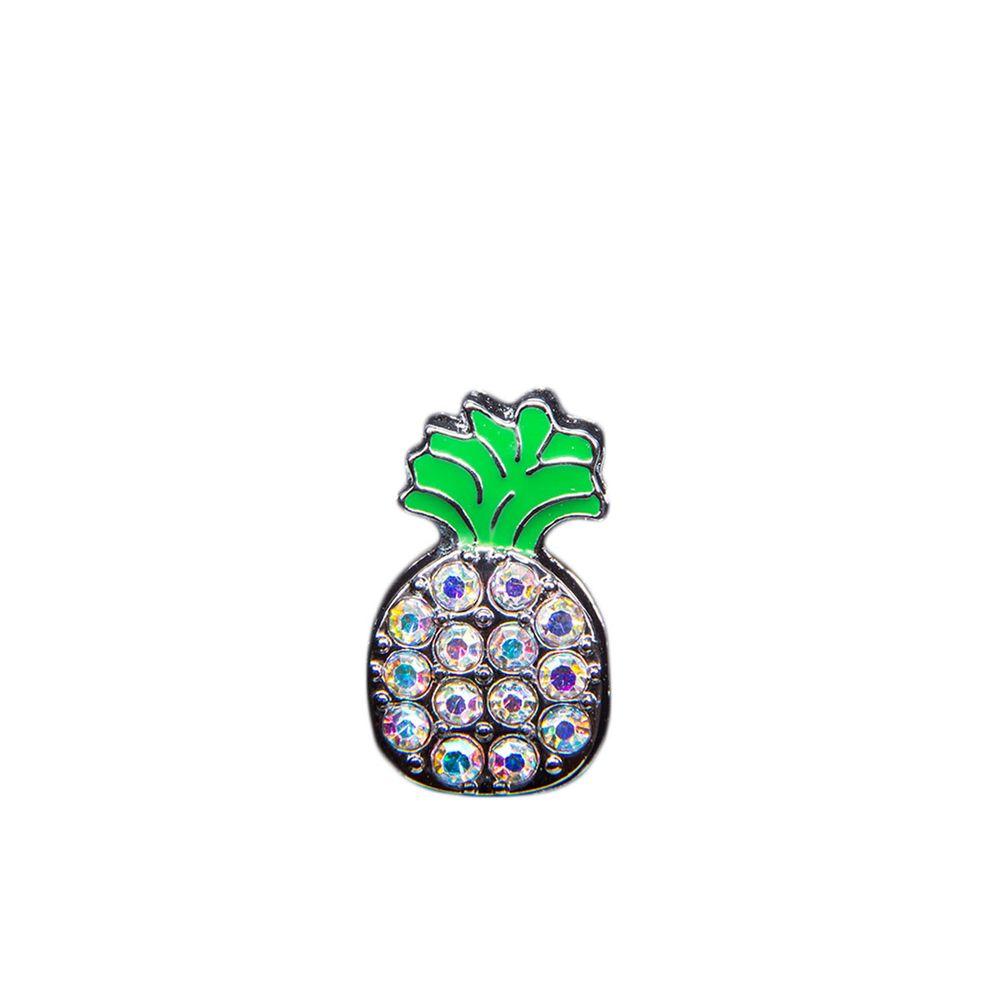 "Эмодзи Tinto ""Fashion pineapple "", арт. AC2357, цвет Серебряный"