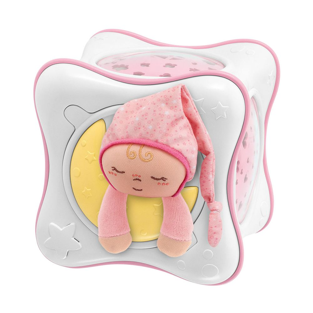 """Игрушка-проектор Chicco """"Радуга"""", арт. 02430, цвет Розовый"""