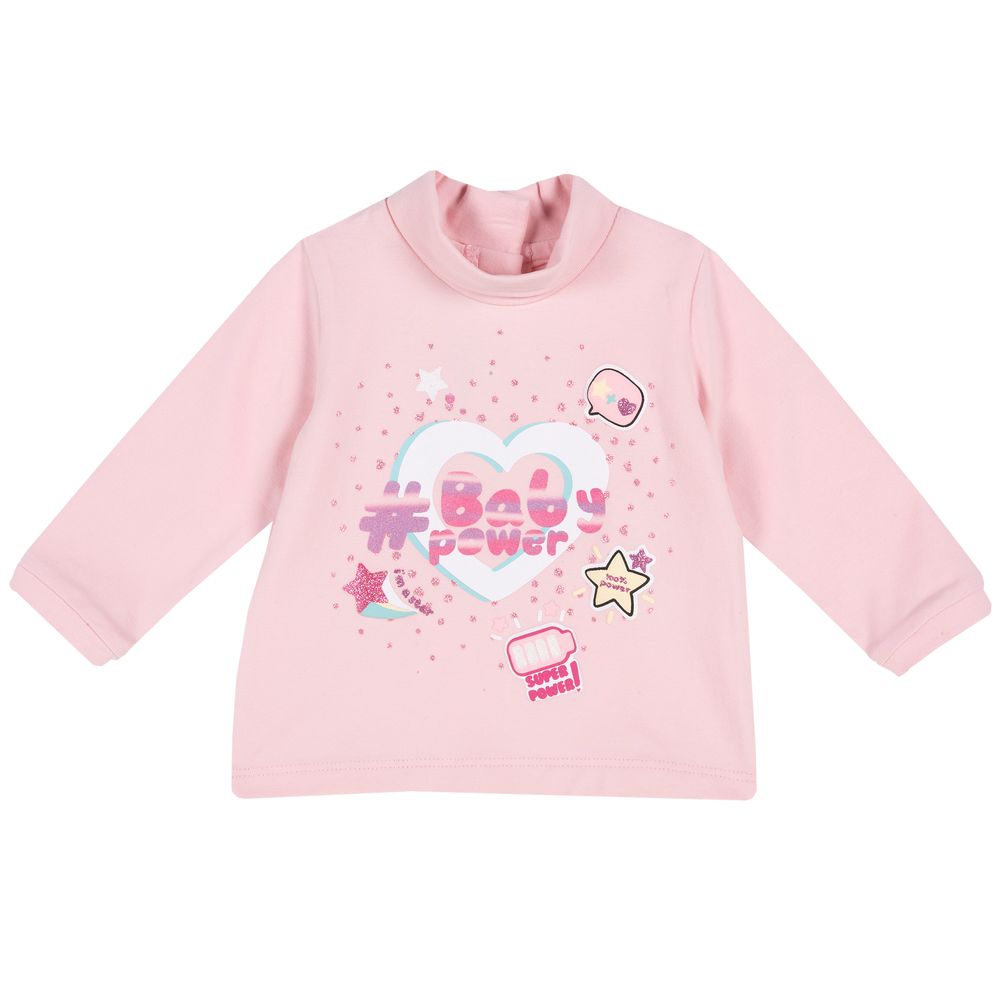 Реглан Chicco Baby power, арт. 090.47780.011, цвет Розовый
