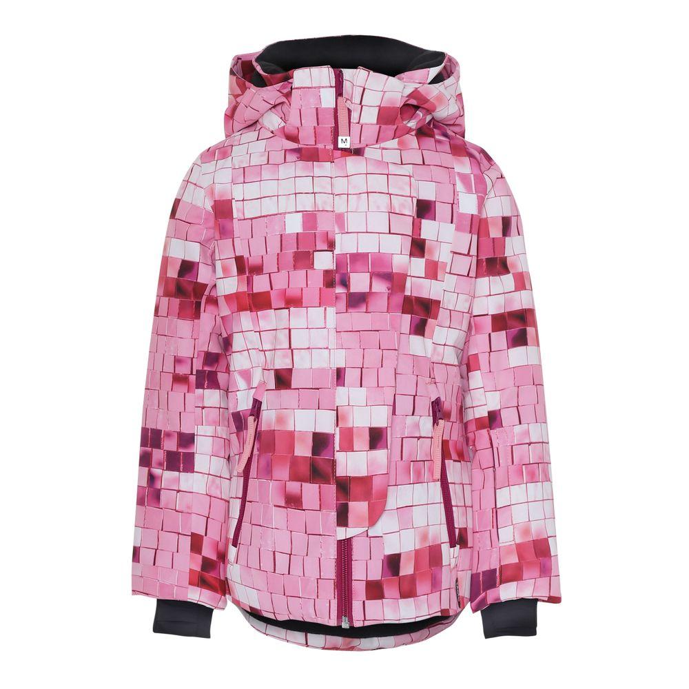 Термокуртка горнолыжная Molo Pearson Pink Disco, арт. 5W19M307.4862, цвет Розовый