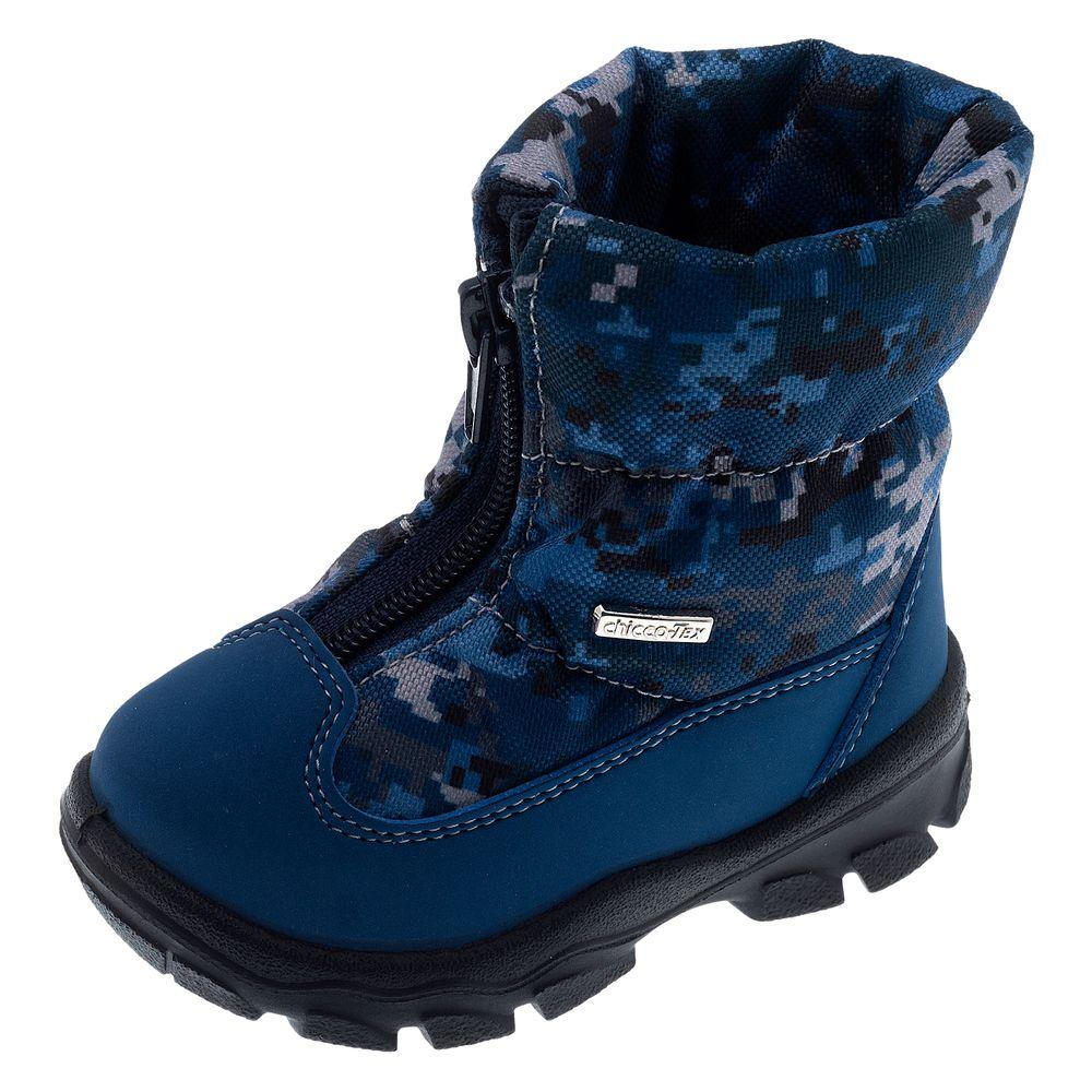 Сапоги Chicco Wilbur Dark blue, арт. 011.62723.920, цвет Синий