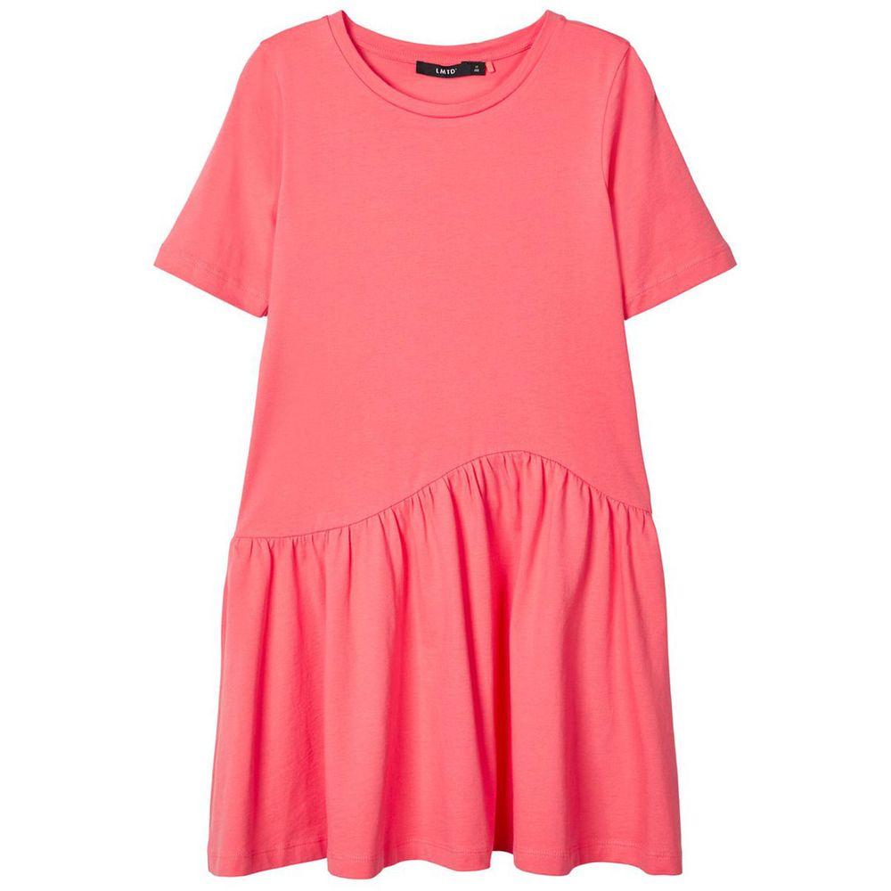 Платье Name it Emma, арт. 201.13179013.DUBA, цвет Коралловый