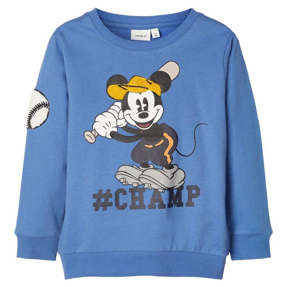 Джемпер Name it Mickey Mouse , арт. 193.13169193.DBLU, цвет Голубой