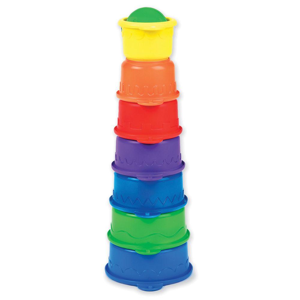 """Игрушка для ванной Munchkin """"Пирамидка–гусеница"""", арт. 011027, цвет Разноцветный"""