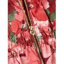 Куртка пуховая Name it Flower heart, арт. 193.13167590.BRED, цвет Красный (фото3)