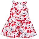 Платье Chicco Fantastic flowers, арт. 090.03684.037, цвет Красный (фото2)