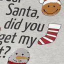 Джемпер Name it Dear Santa (серый), арт. 193.13172248.GMEL, цвет Серый (фото3)