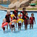 Круг для обучения детей плаванию SWIMTRAINER, 3 мес.- 4 года, арт. 10110, цвет Красный (фото9)