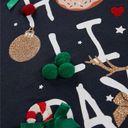 Джемпер Name it Happy holidays, арт. 193.13172024.DSAP, цвет Синий (фото3)