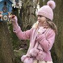 Рукавицы Angel`s Face Jenny, арт. 193.KG.016, цвет Розовый (фото4)
