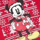 Джемпер Name it Christmas Mickey, арт. 193.13174596.JRED, цвет Красный (фото3)