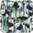 Слюнявчик Molo Nishi Panda, арт. 7S20T104.6051, цвет Черно-белый (фото2)