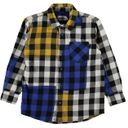Рубашка Molo Raft Checks, арт. 1W19C204.6011, цвет Черно-белый