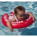 Круг для обучения детей плаванию SWIMTRAINER, 3 мес.- 4 года, арт. 10110, цвет Красный (фото6)